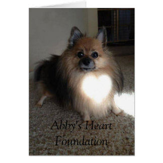 Abby's Heart Foundation Thank You Cards