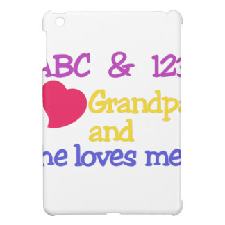 ABC & 123 I Grandpa & He Loves Me! Cover For The iPad Mini
