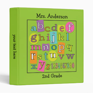 ABC 123 Teacher's Classroom Binder