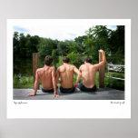 ABC-5374, muchachos del verano, Lee Vandergrift Poster