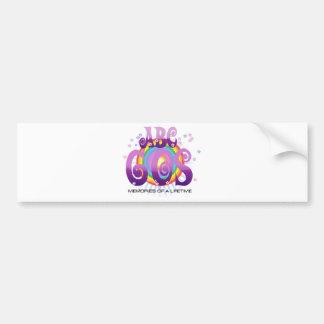 ABC 60s Bumper Sticker