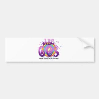 ABC 60s Irlanda Pegatina Para Auto