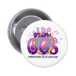 ABC 60S Radio 2 Inch Round Button