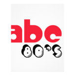 ABC 80's Full Color Flyer