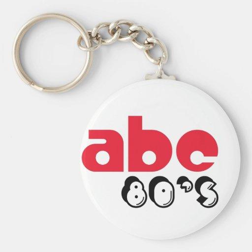 ABC 80's Key Chain