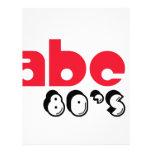ABC 80's Letterhead Design