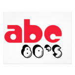ABC 80's Personalized Announcements