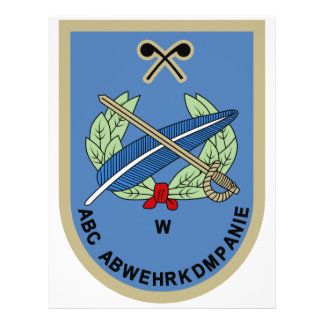 ABC-Abwehrkompanie Militarkommando Wien Personalized Letterhead