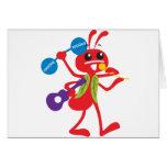 ABC Animals  Adam Ant Card