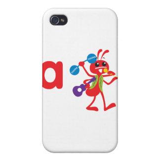 ABC Animals - Adam Ant Covers For iPhone 4