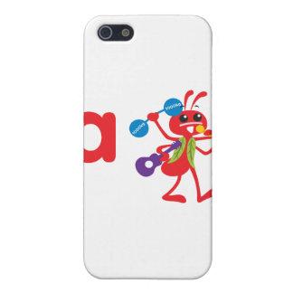 ABC Animals - Adam Ant Cases For iPhone 5