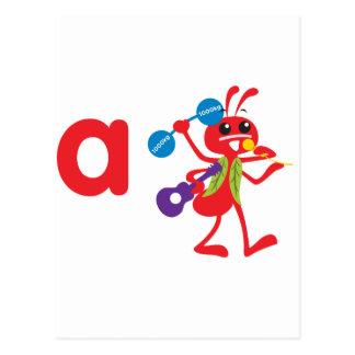 ABC Animals - Adam Ant Post Cards