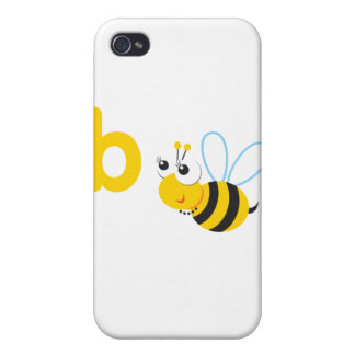 ABC Animals Betty Bee Cases For iPhone 4