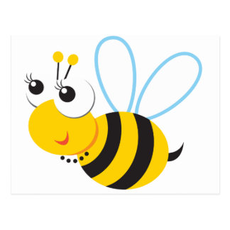 ABC Animals Betty Bee Post Cards