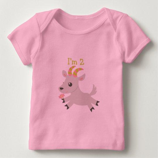 ABC Animals Birthday T-shirt 2nd Birthday