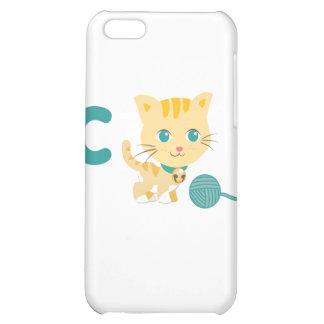 ABC Animals - Carrie Cat iPhone 5C Cover