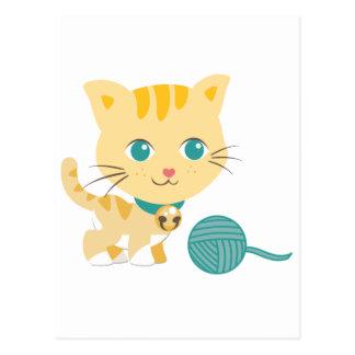 ABC Animals - Carrie Cat Postcards
