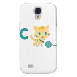 ABC Animals - Carrie Cat Samsung Galaxy S4 Case