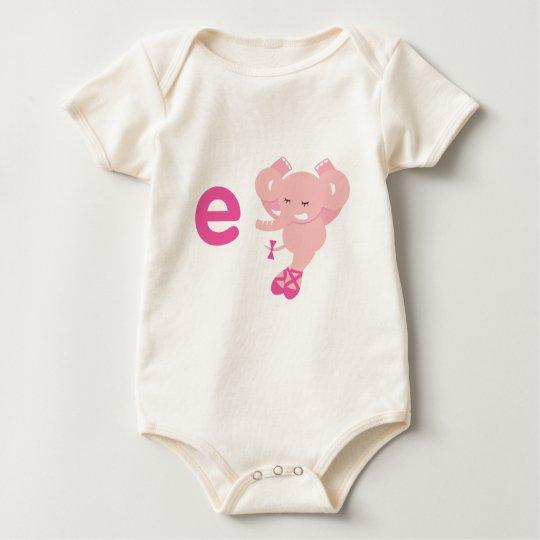ABC Animals - Ellie Elephant Baby Bodysuit