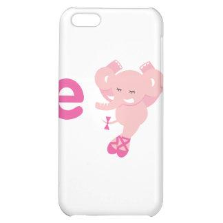 ABC Animals - Ellie Elephant iPhone 5C Cover