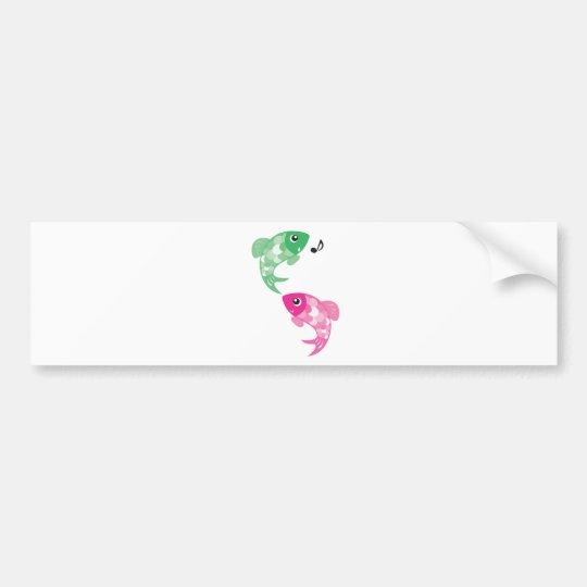 ABC Animals - Figaro & Finzy Fish Bumper Sticker