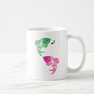 ABC Animals - Figaro & Finzy Fish Coffee Mug