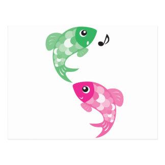 ABC Animals - Figaro Finzy Fish Post Card