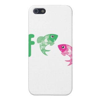 ABC Animals - Fish iPhone 5 Covers