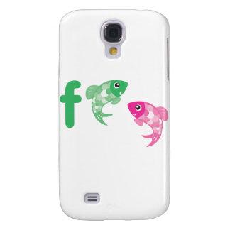 ABC Animals - Fish Samsung Galaxy S4 Cover