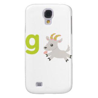 ABC Animals - Gabby Goat Galaxy S4 Case