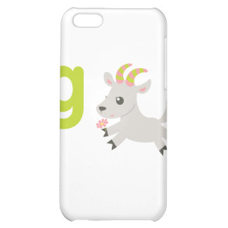 ABC Animals - Gabby Goat iPhone 5C Cover