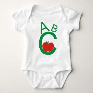 ABC Apple Baby Bodysuit
