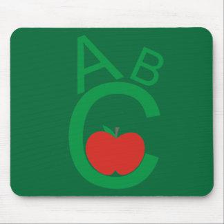 ABC Apple Mouse Pad
