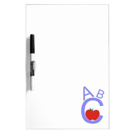 ABC Apple Pizarra