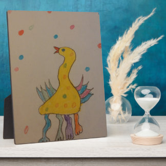 #ABC Art by Children, Easter Duck Display Plaques