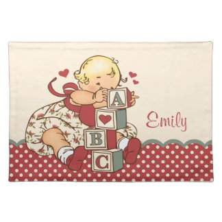ABC Baby Personalized Placemat