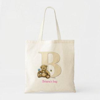 ABC - Bear, Bird & Bee Canvas Bag