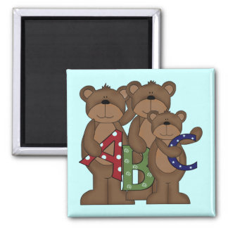 ABC Bears Tshirts and Gifts Magnets