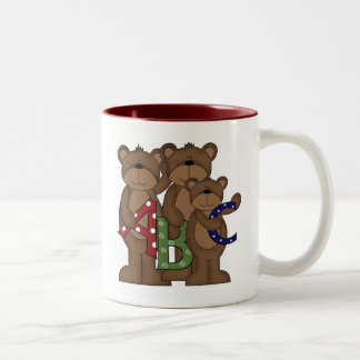 ABC Bears Tshirts and Gifts Two-Tone Coffee Mug