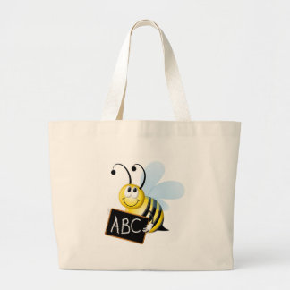 abc Bee Tote Bags