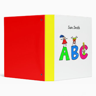 Abc Binder - Your Childs Name