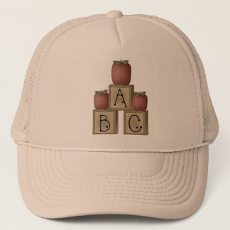 ABC Blocks and Apples Trucker Hat