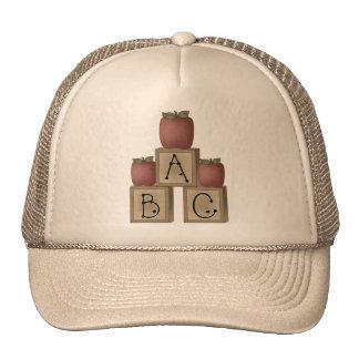 ABC Blocks and Apples Trucker Hat