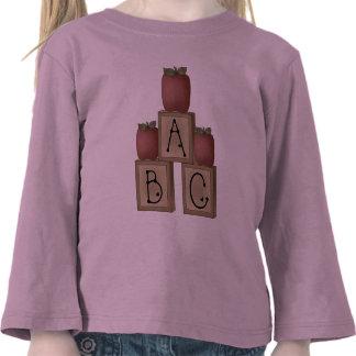 ABC Blocks and Apples T Shirt