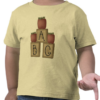 ABC Blocks and Apples T Shirts