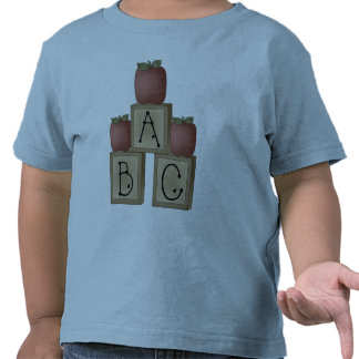 ABC Blocks and Apples Tee Shirt