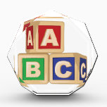"""ABC Blocks Award<br><div class=""""desc"""">Blocks offer kids a foundation for learning.  Add style with this design on nursery furniture and decor!</div>"""