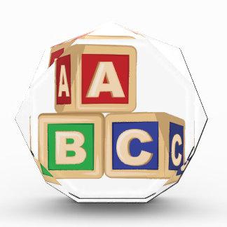ABC Blocks Award