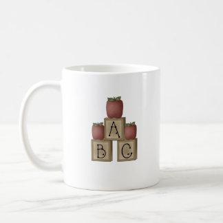 ABC blocks Coffee Mug