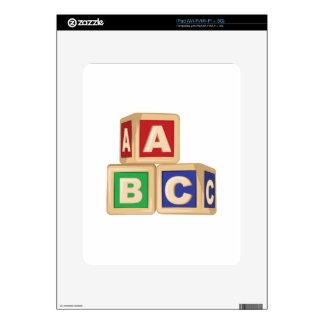 ABC Blocks iPad Decals